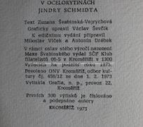 Max Švabinský, Jindra Schmidt