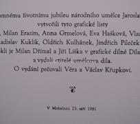 O. Kulhánek, V. Komárek, J. Paleček, J. Souček aj.