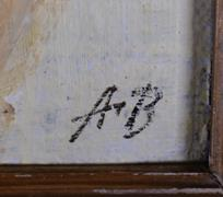 monogramováno AB