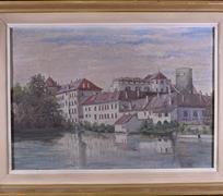 středoevropský malíř počátku 20. stol.