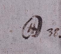 monogramováno H.