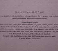 O. Janeček, L. Jiřincová, K. Lhoták, J. Liesler, V. Sivko, P. Kotík, a. Naumann, P. Sukdolák a další