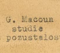 Gustav Macoun