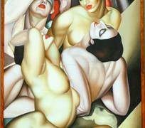 podle Tamara De Lempicka