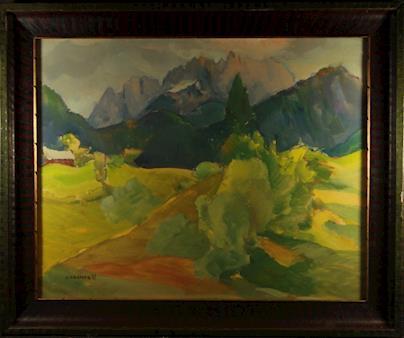 Alfred Adámek - Horská krajina