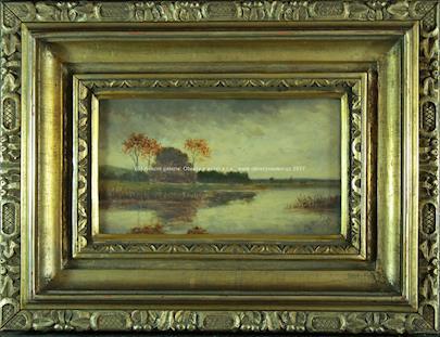 Antonín Chittussi - Krajina s rybníkem