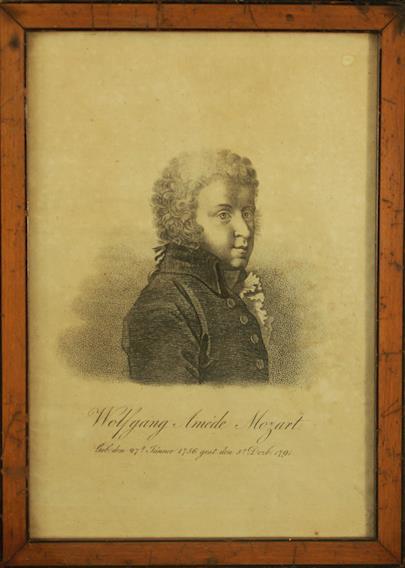 nesignováno - Wolfgang Amadeus Mozart