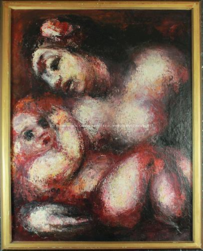Jan Bauch - Matka s dítětem