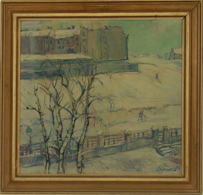Jaroslav Wünsch - Zima na předměstí