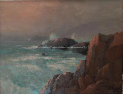 Aleksei Vasiljevič Hanzen - Pobřežní skaliska