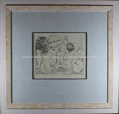 Pablo Picasso - Scéne bacchique au minotaure