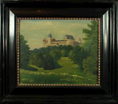 Karla Elflein - V zahradě pod hradem