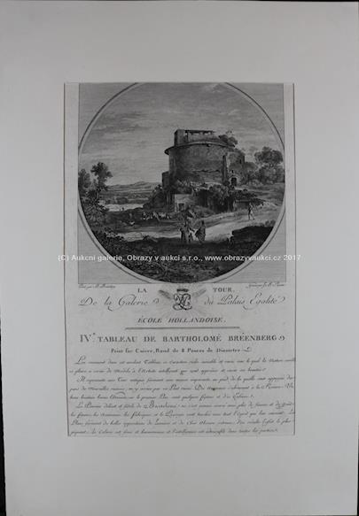 dle B. Berenberga ryl J.B. Racine - Římská ruina