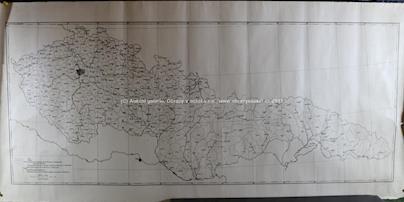 . - 2 mapy Československa z r. 1929