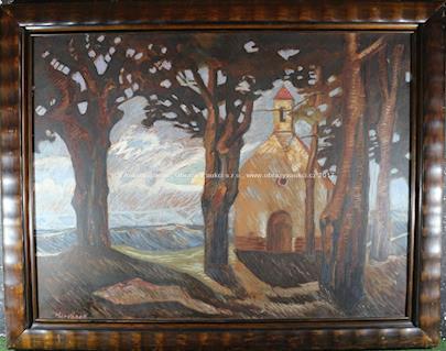 Otakar Marvánek - Kostelík u lesa