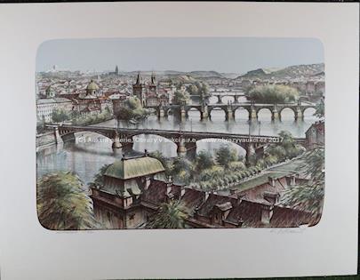 Karel Stolař - Praha z Letné