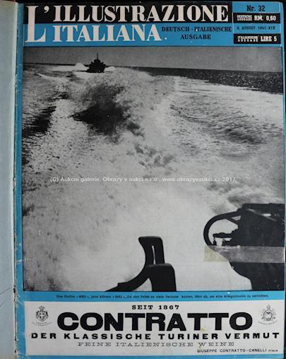 . - Svázané časopisy: L´illustrazione Italiana