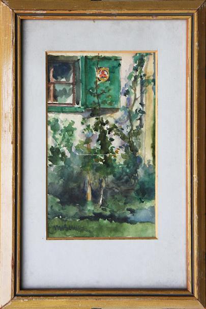 Martin Benka - Okno do zahrady