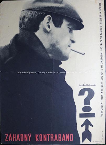 50. a 60. léta 20. století - 11x plakáty zahraničních filmů