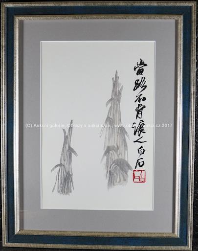 Bai-shi Qi (Čchi Paj-š´) - Dřevořez CCXXX
