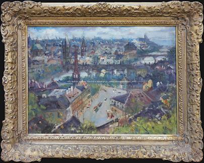 Vincenc Beneš - Pražské panorama