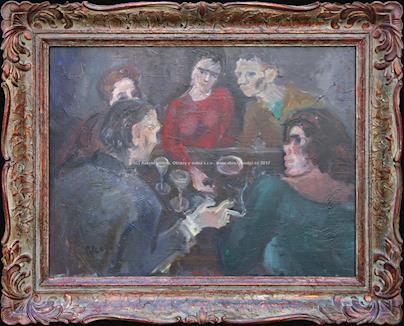 Antonín Pelc - V kavárně