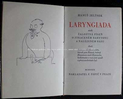 Hanuš Jelínek - Laryngiada