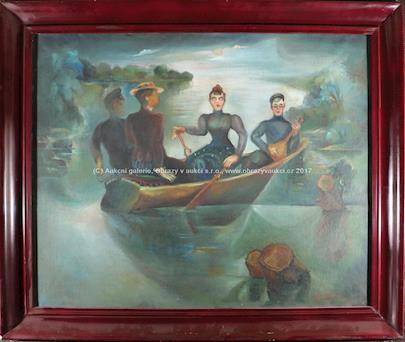 Grigorij Musatov - Na loďce