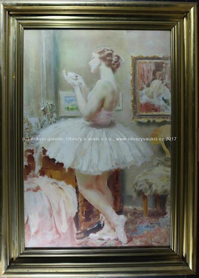 Josef  Loukota - Tanečnice v budoáru
