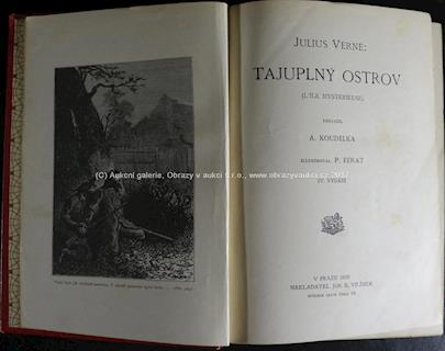 Jules Verne, P. Férat - Tajuplný ostrov