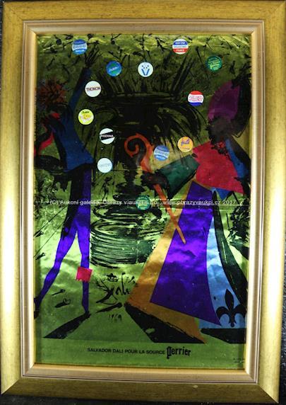 Salvador Dalí - Salvador Dali - Pour la Source Perrier