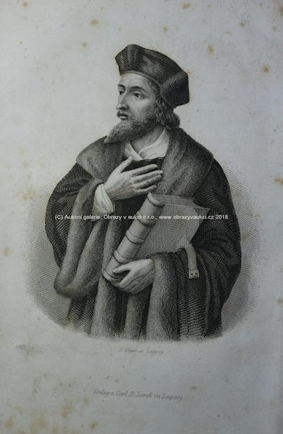 Emile de Bonnechose - Johann Huss und das Concil zu Costnitz