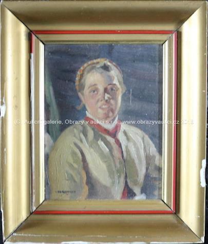 Viktor Voroncov - Portrét dívky