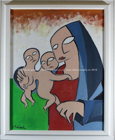Ivan Mládek - Matka s dětmi