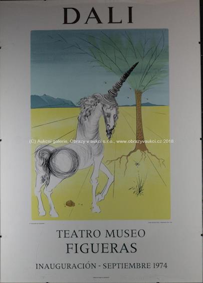 Salvador Dalí - Jednorožec