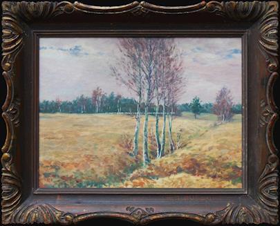 František Kaván - Podzimní krajina