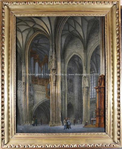 nesignováno - V katedrále