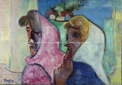 Pravoslav Kotík - Dvě ženy