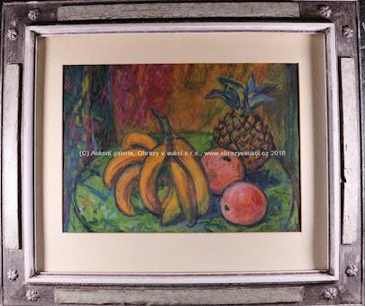 Emanuel Pryl - Zátiší s jižním ovocem
