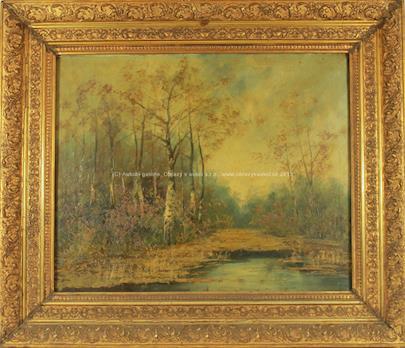 Hugo Ullik - Lesní rybník