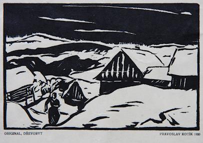Pravoslav Kotík - Zima