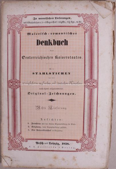 . - Malerisch-romantisches Denkbuch des Österreichischen Kaiserstaates
