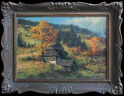 Jaroslav Panuška - Podzim na samotě