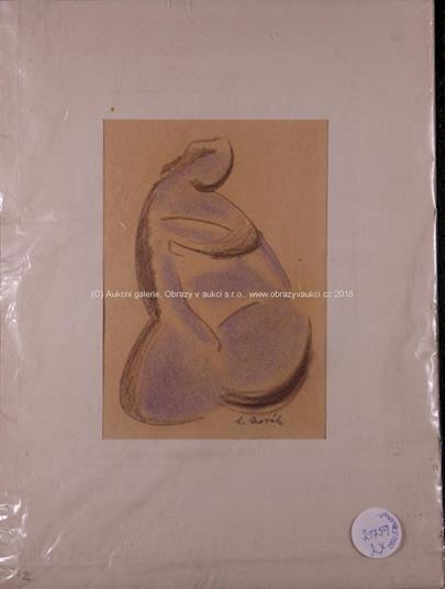 L. Novák - Soubor 2 kreseb