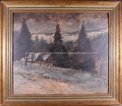 Ladislav Ehrlich - Zimní soumrak