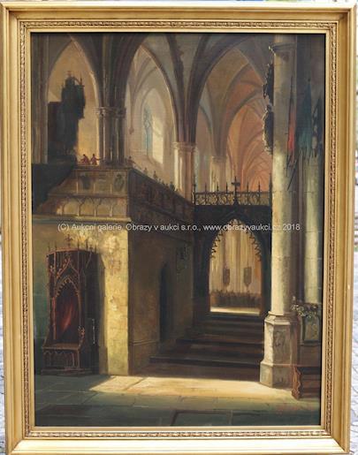 Ferdinand Lepié - Interiér chrámu