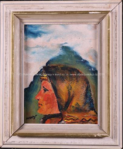 Martin Benka - Žena v horách