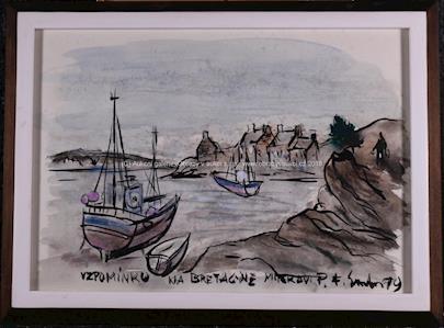 František Emler - Vzpomínka na Bretagne