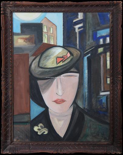 Otakar Mrkvička - Žena s kloboukem