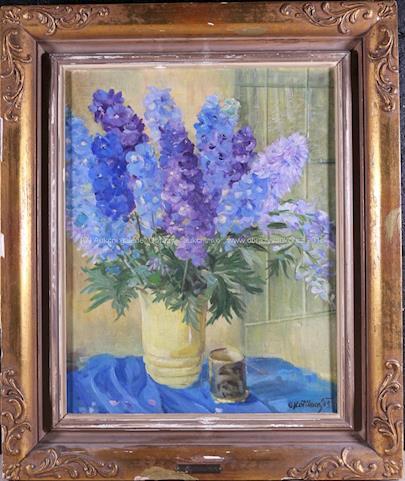 Olga Kotíková - Kytice modrých květů